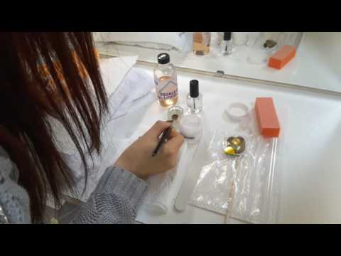 Vuu's Beauty School: Practical Nails Exam - Arcrylic Nail
