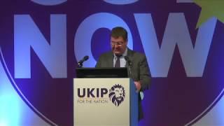 Mike Hookem MEP at Torquay