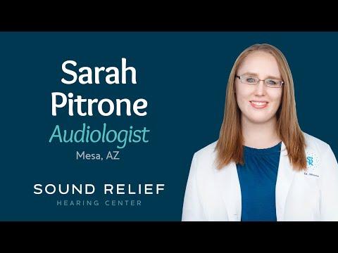 Sarah Pitrone, Au.D. | Sound Relief Tinnitus & Hearing Center | Mesa, AZ