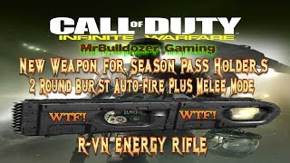 infinite warfare new energy weapon r vn energy weapon 2 round burst auto fire plus melee mode