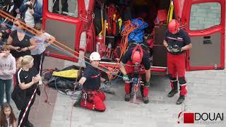 Douai TV - Journée nationale des sapeurs-pompiers avec le SDIS59