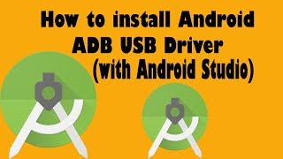 How to install Android ADB USB Driver with Android Studio english by Easy Tut 4 U