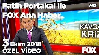 Ankara'da bakkallar ekmek satışını durdurdu... 3 Ekim 2018 Fatih Portakal ile FOX Ana Haber