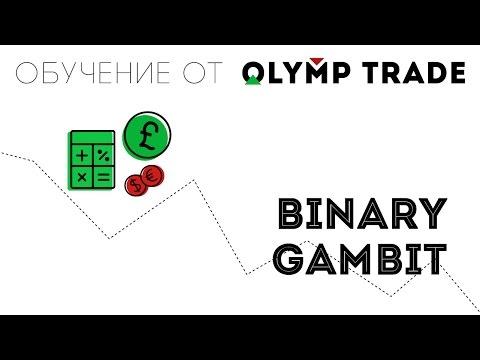 Binary options via olymp trade
