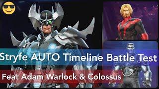 Stryfe AUTO Timeline Battle Initial Test (Underrated Timeline Team?) - Marvel Future Fight