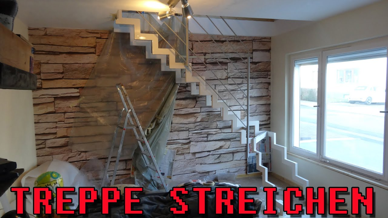 treppe streichen zeitraffer youtube. Black Bedroom Furniture Sets. Home Design Ideas