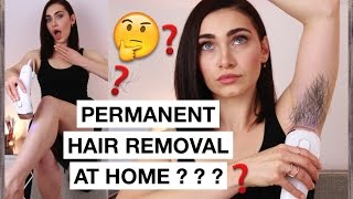Remove Hair Permanently AT HOME!  Does it Work Edition | Ruby Golani