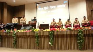 Hum to Hain Pardesh Sakhi Desh Me Nikala Hoga Chaand, by VH Music Teacher of NIVH, at IIRS, Dehradun