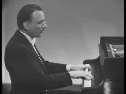 Arturo Benedetti Michelangeli plays Galuppi - Sonata in C major (1962)