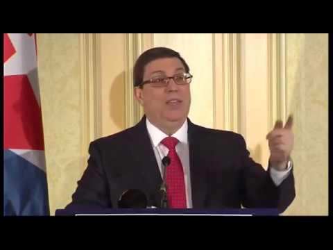 Conferencia de Prensa Bruno Rodríguez Parrilla Ministro de Relaciones Exteriores de Cuba