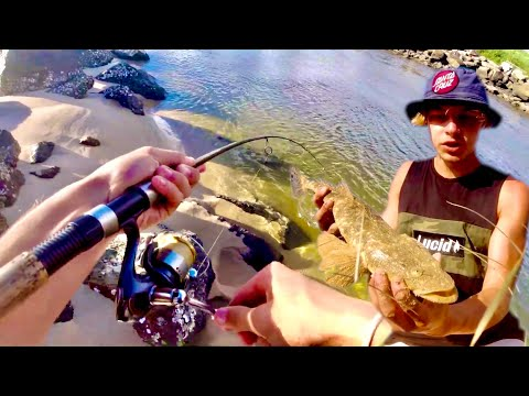 How To Catch BIG Fish On Rock Walls With Lures!!! - South West Rocks