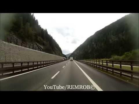 Driving From Garmisch Partenkirchen, Germany To Vipiteno, Italy