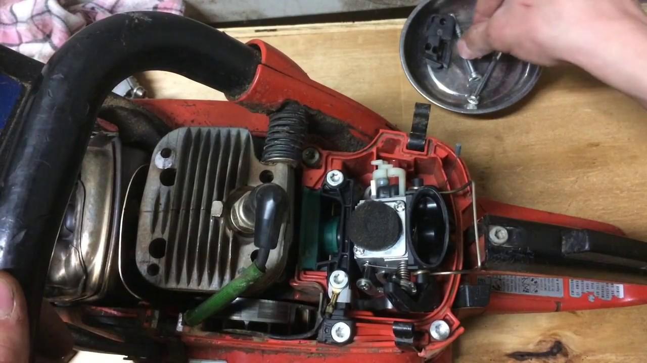 Dolmar Chainsaw Carburetor Cleaning Youtube