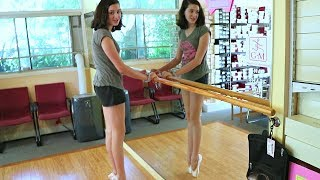 First Pair of Pointe Shoes!