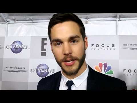 Chris Wood Golden Globes Containment Interview