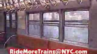 IRT Nostalgia Train on the 2 Line (via 7th Avenue Express)