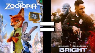 24 Reasons Zootopia & Netflix's Bright Are The Same Movie