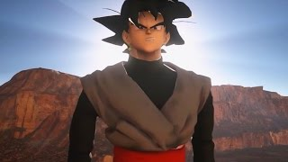 Dragon Ball Unreal (Demo) - Goku Black Revealed! NEW Maps, Characters & Sound System! (Goku Black)