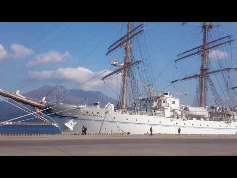 Kaiwo Maru - four masted barque training boat