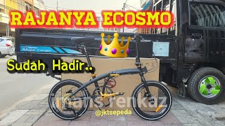 Sepeda Lipat Element Ecosmo 10 Limited Edition   First impression.!!