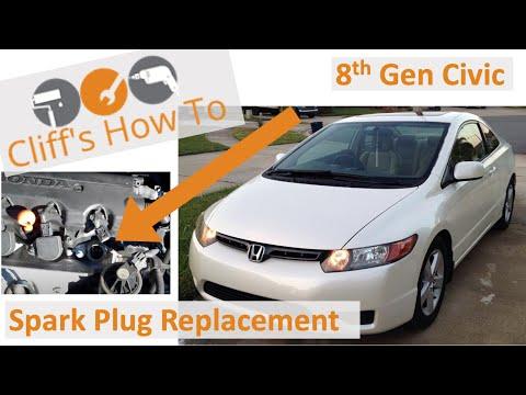 2006-2009 Civic EX spark plug change