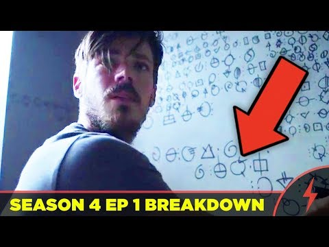 """Flash 4x01 Breakdown """"The Flash Reborn"""" -  WHAT YOU MISSED (ALL EASTER EGGS and THINKER EXPLAINED)"""