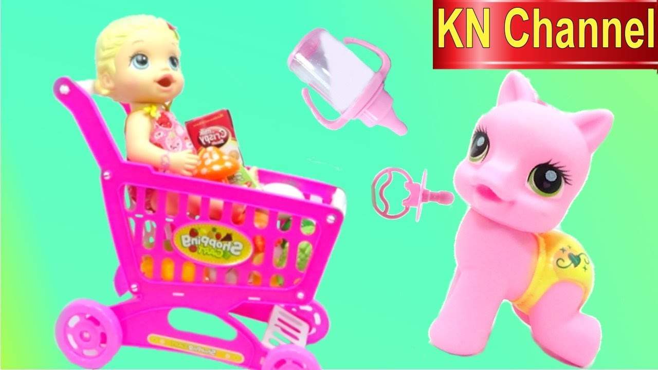 Kn Channel B 218 P B 202 Baby Alive Doll ChĂm S 211 C NgỰa Con My