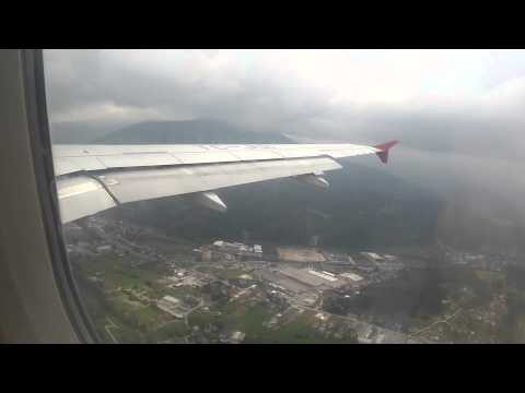 Landing in Sarajevo 2014 7th of August