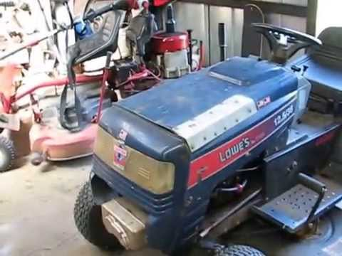 Lowes Lawn Mower Plus Snapper Still Running Youtube