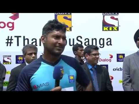 Sangakkara's Farewell Speech - Full Video