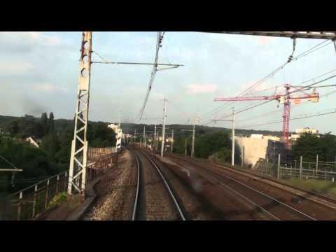 Voyage en cabine : De Monfort l'Amaury à Paris Montparnasse en VB2N