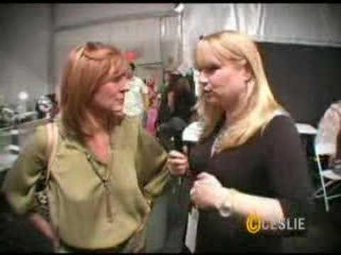 CESLIE TV: Nicole Miller Interview