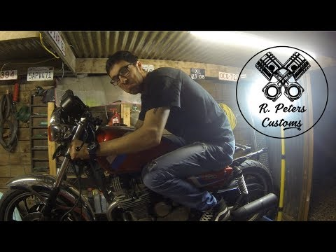 I'm back with a new project! I'll be turning my yamaha XJ 550 into a cafe racer. All music credit goes to: ...