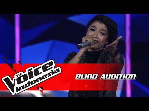 Kim - Yang Aku Tunggu | Blind Auditions | The Voice Indonesia GTV 2018