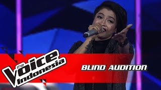 Kim - Yang Aku Tunggu | Blind Auditions | The Voice Indonesia GTV 2018 MP3