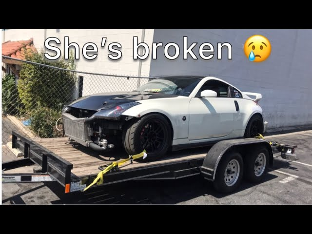 towing-my-z-to-the-wrap-shop-instead-of-driving