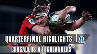 QUARTERFINAL HIGHLIGHTS: Crusaders v Highlanders – 2019