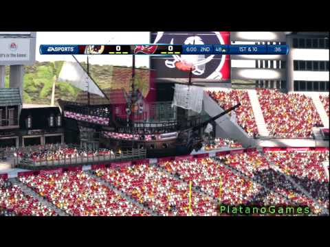NFL 2012 Wk 4 - Washington Redskins (1-2) vs Tampa Bay Buccaneers (1-2) - 1st Half - Madden