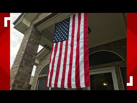 Bill Reed - WATCH! HOA Says Veteran Homeowner CAN'T FLY FLAG ALL YEAR!