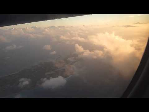 FLight AXA to STT Anguilla and Clouds