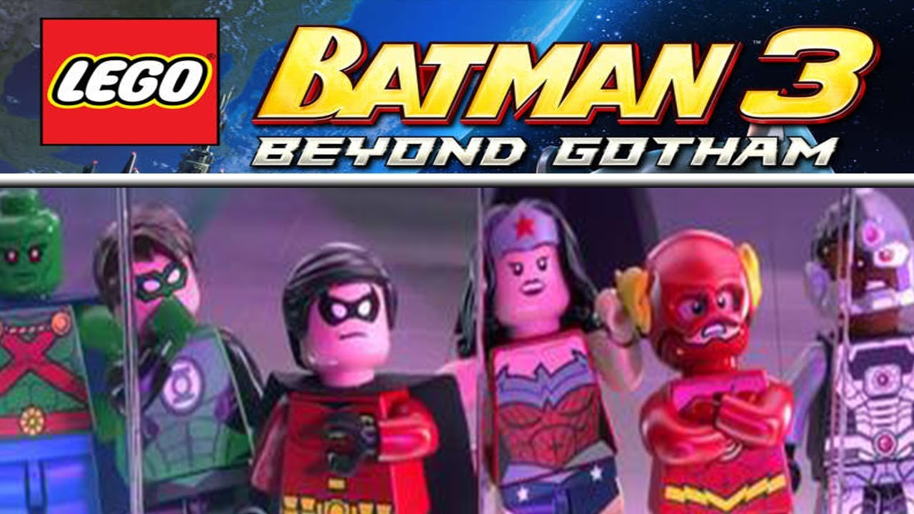 LEGO BATMAN 3: BEYOND GOTHAM OFFICIAL TRAILER #1 [HD