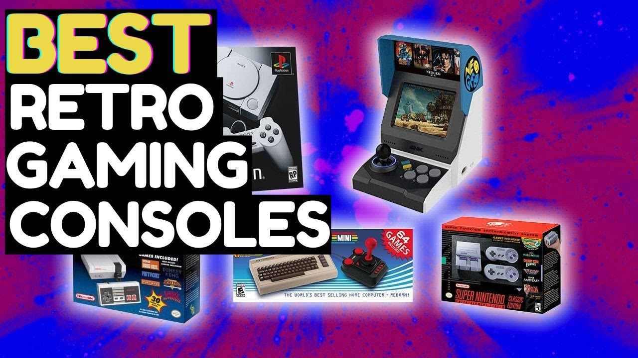Top 10 Best Retro Gaming Consoles in 2021