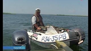 видео Рыболовные базы сальский район