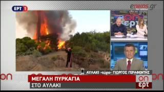 enikos.gr -Φωτιά στο Κορωπί