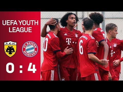 AEK Athens vs. FC Bayern | Full Game | U19 UEFA Youth League - Matchday 3