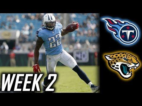 Week 2: Tennessee Titans beat Jacksonville Jaguars 37-16! Derrick Henry looks great!