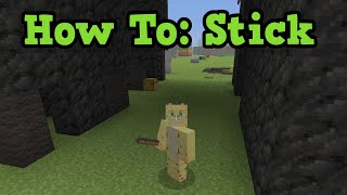 Minecraft Stick Weapon Guide - Xbox 360 / PS3 TU37