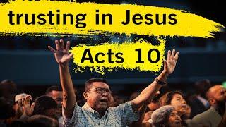 Everyone may trust in Jesus Everyone must trust in Jesus