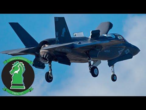 F-35B Самолет 21 века / Тренировочные полеты на базе КМП США в Японии