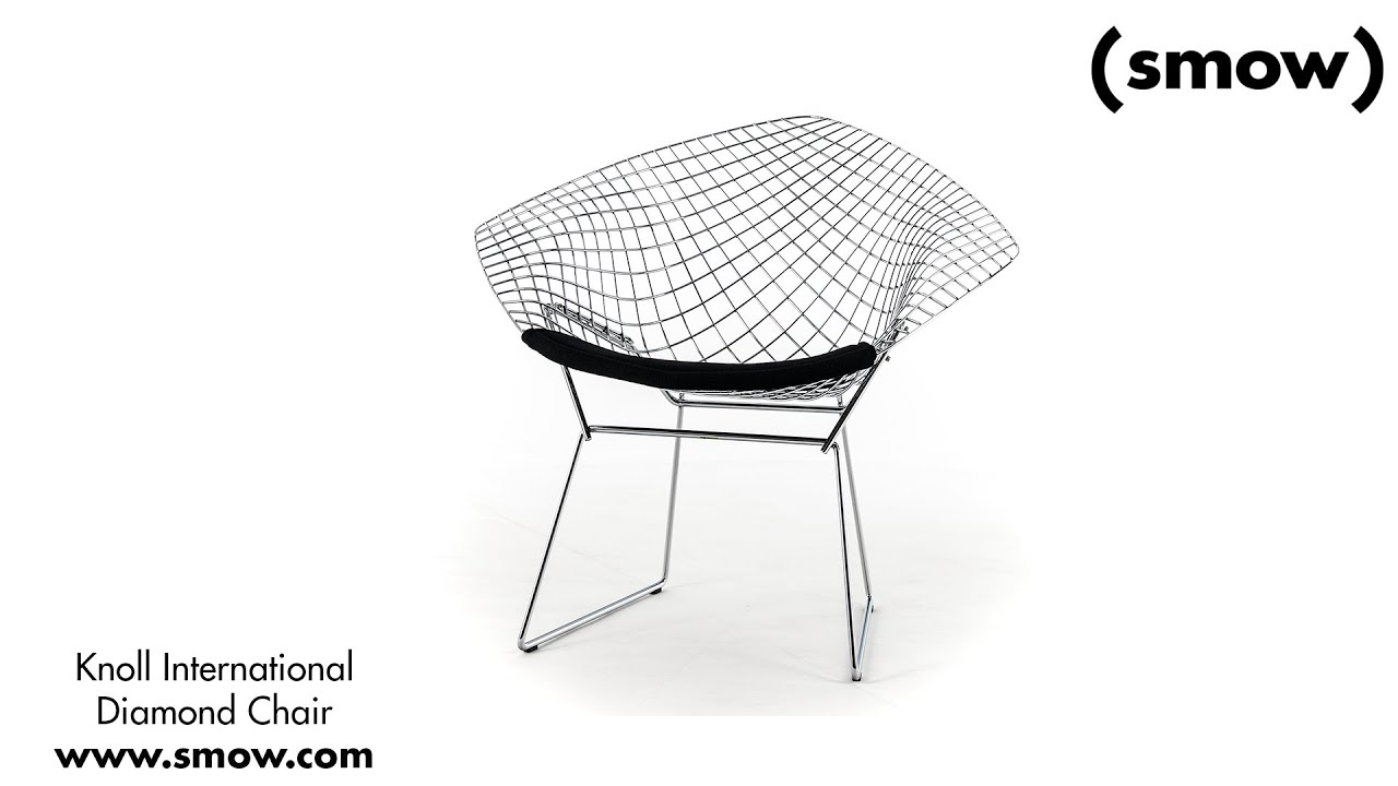 Knoll International Diamond Sessel Youtube